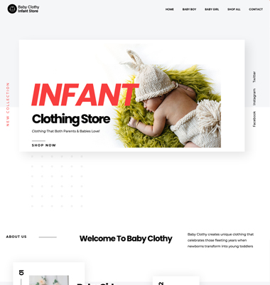 Baby Clothy Infant Store